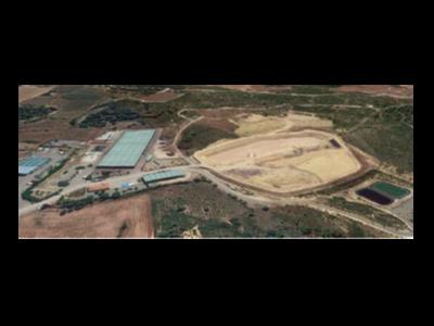 Vista actual del Centre de Tractament de Residus de la Conca de Barberà.