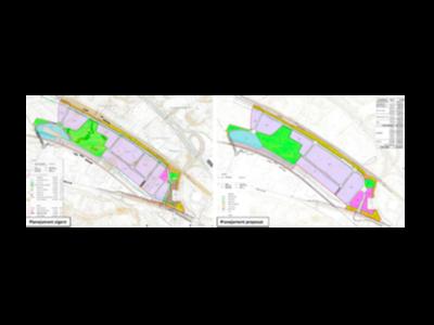 Comparació del planejament vigent i de l'aprovat