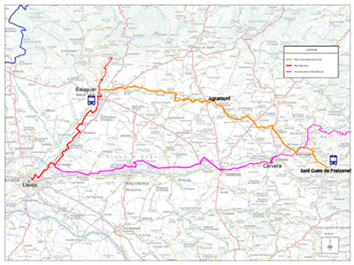 vall Sio cicloturisme ruta