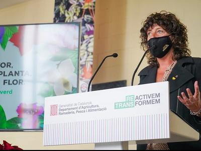 Jordà presentant la campanya Fem créixer el verd