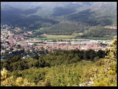 Vistes del municipi d'Aiguafreda