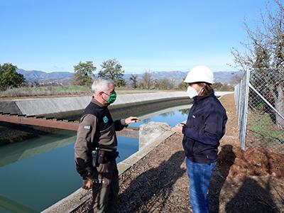 Agents Rurals i Endesa col·laboren al Canal de Gavet