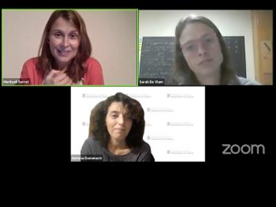 Les participants a l'acte virtual de presentació i debat al voltant del llibre 'Passage Pyreneeën'