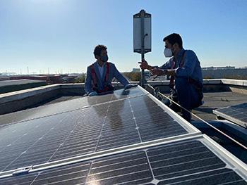 Calvet plaques fotovoltaiques L9 L10 metro