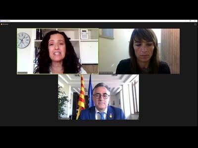 El conseller Tremosa en la inauguració aquest matí del 27è Congrés de Fires de Catalunya