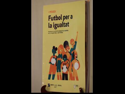 #Orgullosa, futbol per a la igualtat