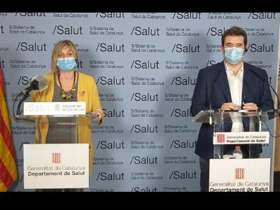 La consellera Vergés reclama responsabilitat i limitar les trobades socials per evitar una tercera onada de Covid-19 a Catalunya