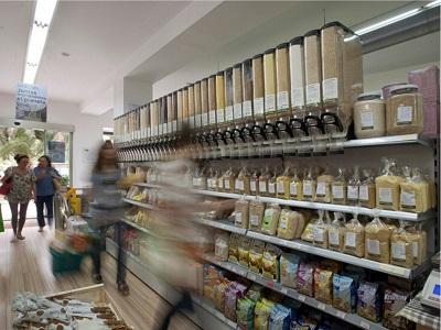 Botiga d'aliments ecològics