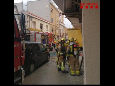 Incendi pis a Castellví de la Marca