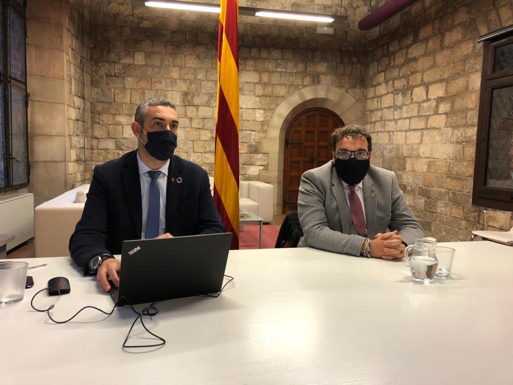 Trobada alcaldes àrea metropolitana de Barcelona