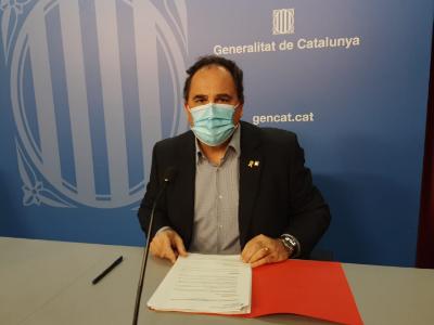 El director general Enric Vinaixa