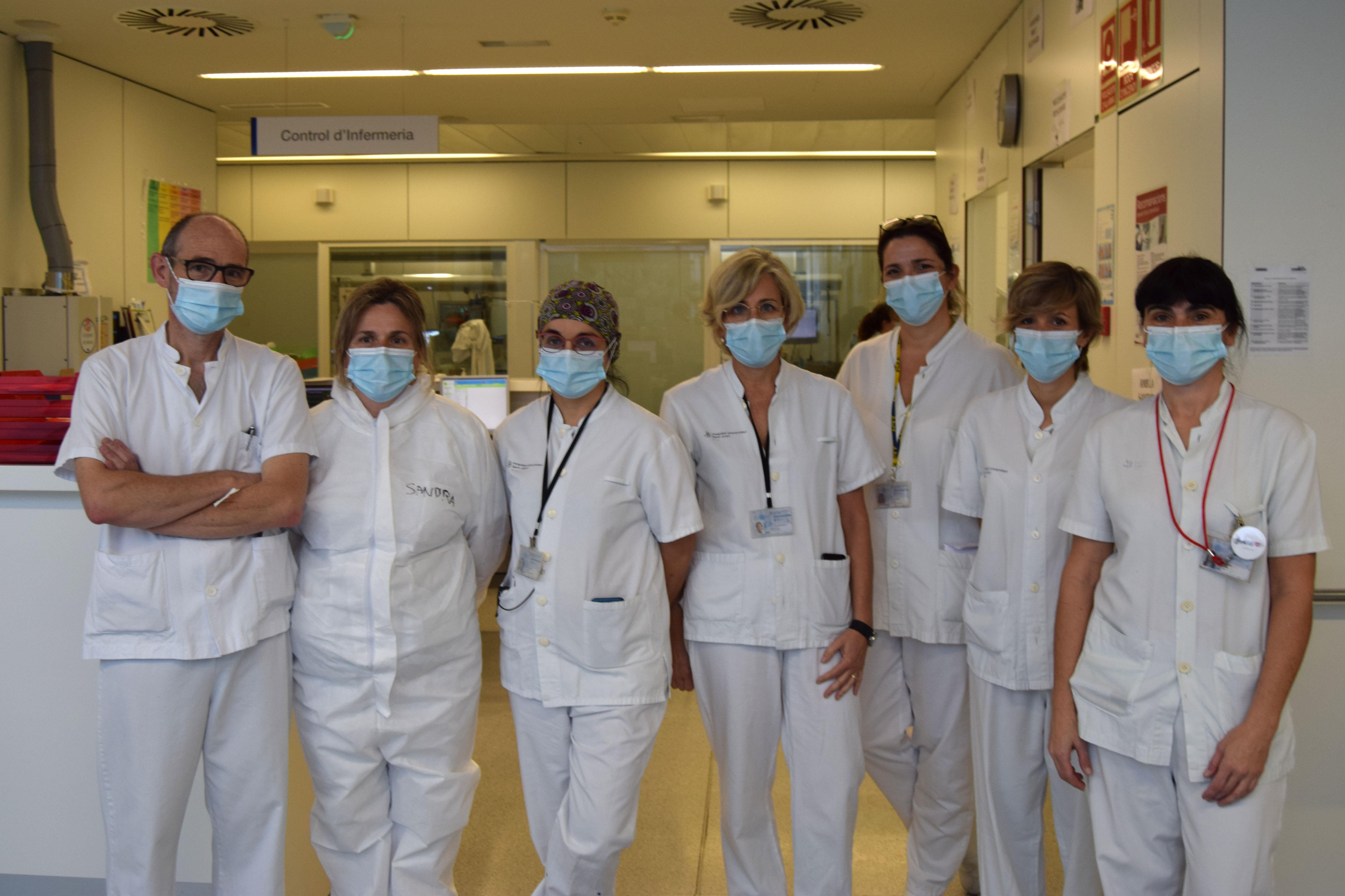 L'equip de l'Hospital Sant Joan de Reus que ha gestionat el primer donant d'òrgans i teixits en asistòlia controlada