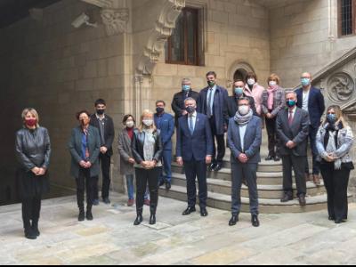La consellera Ponsa presideix l'acte del 20è aniversari del reconeixement de les esglésies romàniques de la Vall de Boí i el conjunt arqueològic de Tàrraco com a Patrimoni Mundial