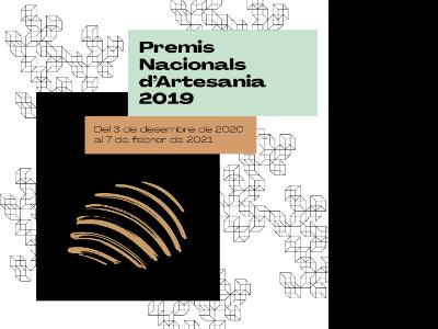 Exposició dels Premis Nacionals d'Artesania 2019