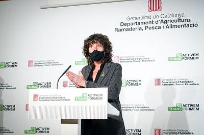 Teresa Jordà fent balanç de les ajudes PAC