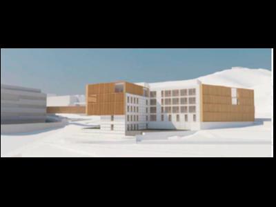 Imatge virtual del futur Pediàtric Càncer Center