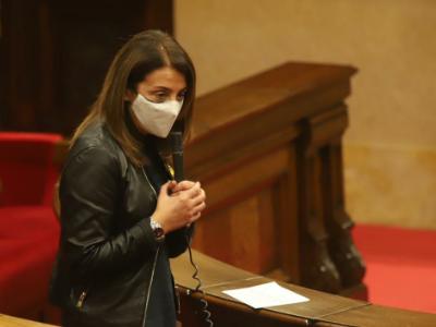 Consellera Budó, sessió control Parlament