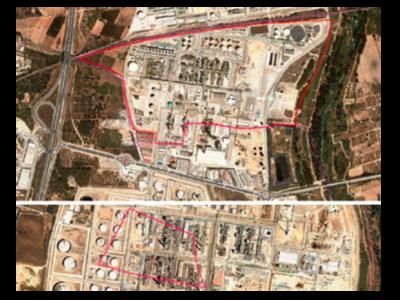 Imatge aèria del sector de la Gran Indústria