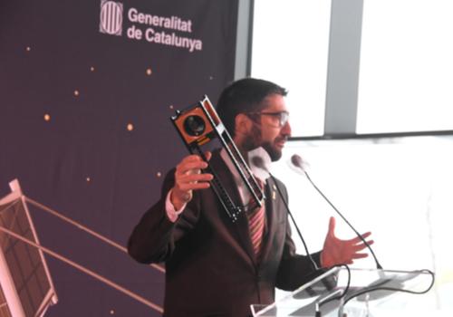 Presentació Catalonia SpacePort a Alguaire