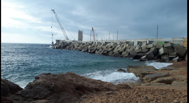Obres vistes des del mar