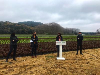 """Teresa Jordà: """"El nou Pla de l'horta permetrà millorar la producció i la comercialització de proximitat"""""""