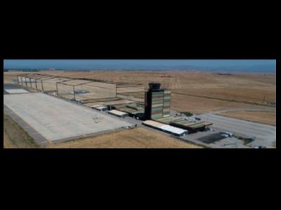 Simulació de la ubicació dels nous hangars.
