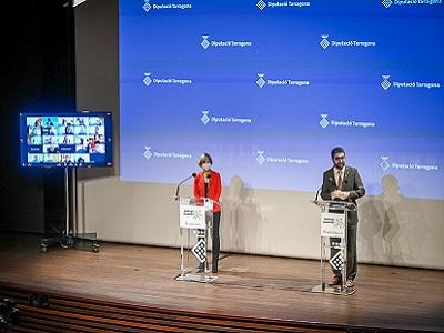 Presentació del conveni entre la Generalitat de Catalunya i la Diputació de Tarragona per continuar el desplegament de fibra òptica a la demarcació de Tarragona