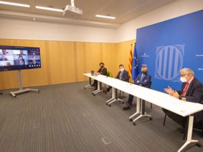Fotografia de la reunió del Comitè Assessor Catalunya-Next Generation EU