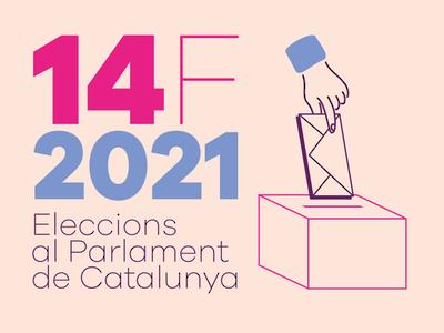 Imatge oficial de les eleccions al Parlament de Catalunya 2021