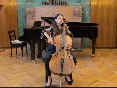 La violoncel·lista i becada per la Fundació Pau Casals, Mariona Camats