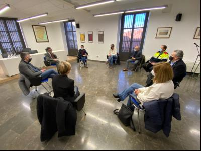Reunió amb els representants de les administracions territorials de la comarca del Priorat