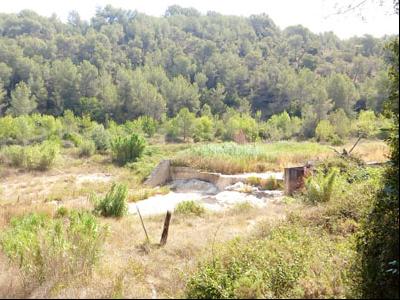 Imatge de l'antiga estació d'aforament de Vespella de Gaià.