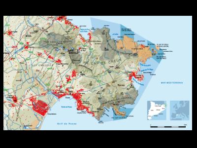 Àmbit del PRUG de l'àmbit marí del Parc Natural de Cap de Creus