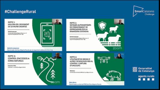 Reptes SmartCatalonia Challenge amb Agents Rurals