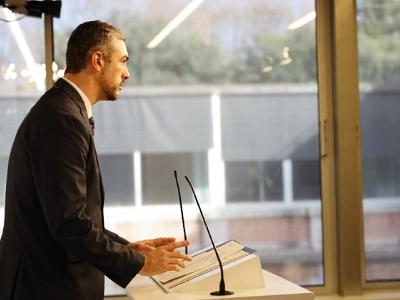 Bernat Solé, conseller d'Acció Exterior