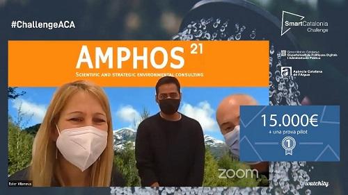 1r premi per a Amphos 21