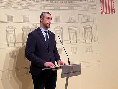 El conseller Bernat Solé.
