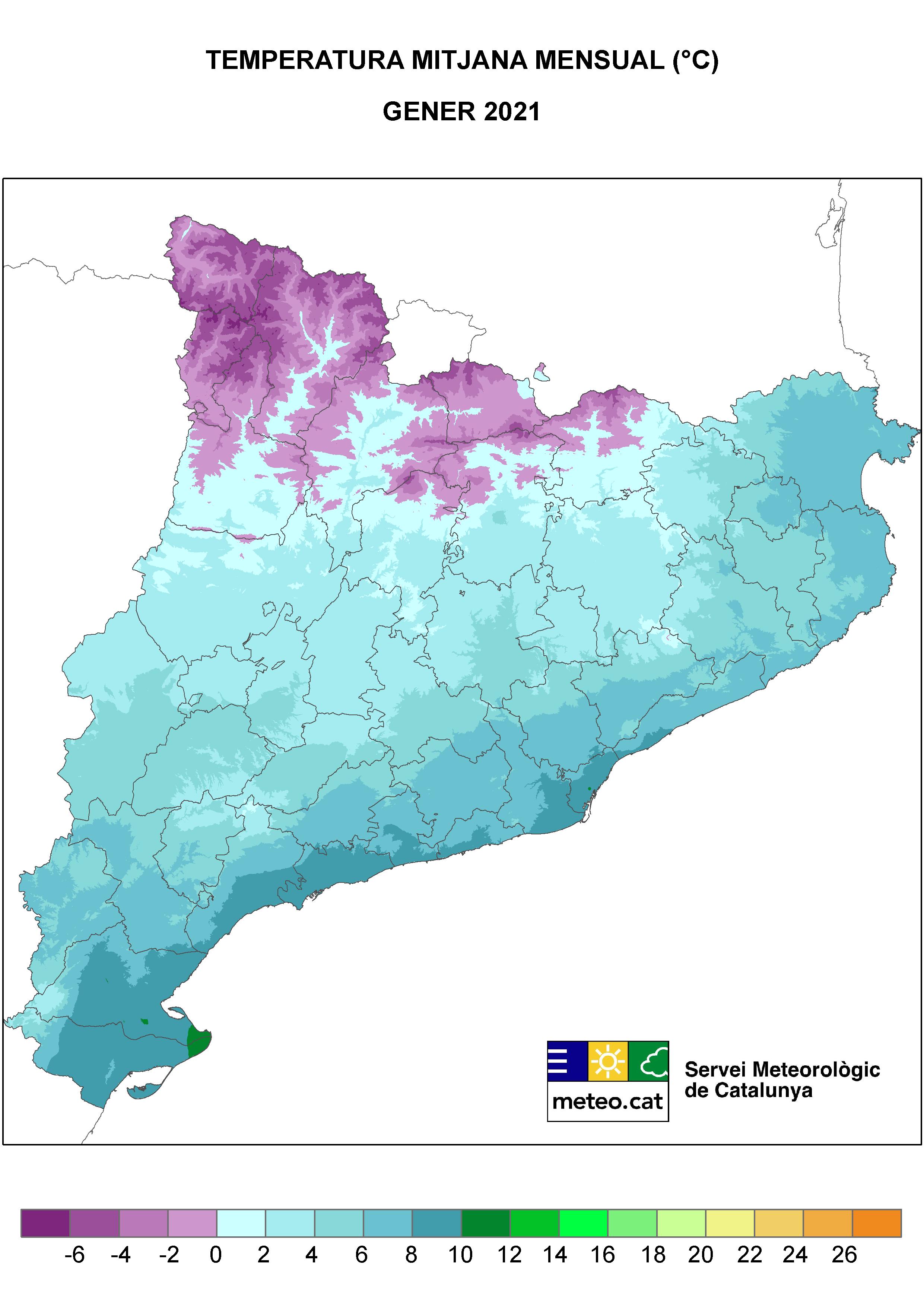 Mapa TMitjana
