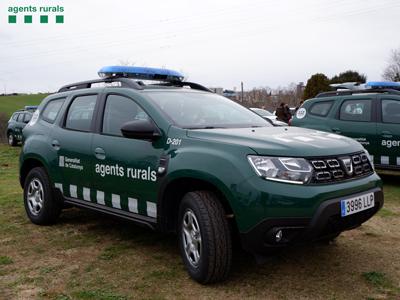 Nou cotxe dels Agents Rurals