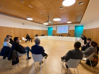 Imatges de la reunió.