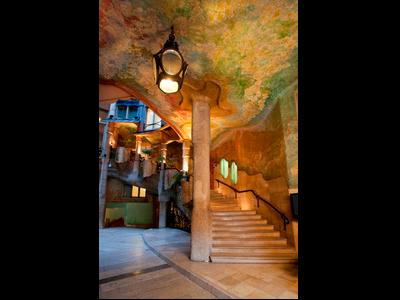 imatge de l'interior del pati Pg de Gràcia de la Casa Mitlà