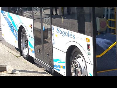Imatge bus Sagalés