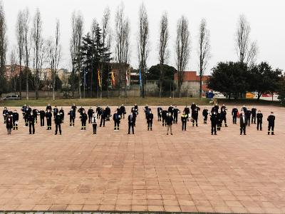 El conseller Sàmper presideix l'acte de cloenda del curs de capacitació d'oficials del cos de Bombers de la Generalitat