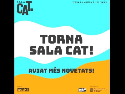 El Departament de Cultura i l'Associació de sales de concerts de Catalunya impulsen una segona edició de Sala CAT