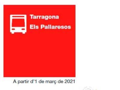 Noves expedicions bus Tarragona - Els Pallaresos