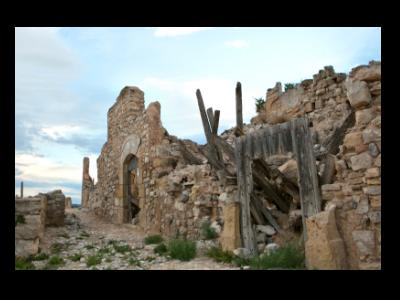 Imatge del Poble Vell de Corbera d'Ebre