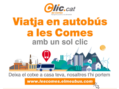 Cartell Clic.cat Les Comes