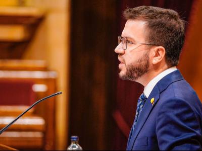 El vicepresident a la Diputació Permanent del Parlament