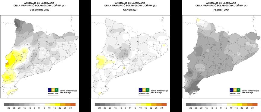 Mapa ARS 3 mesos hivern 2021