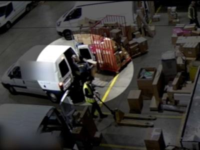 Desarticulat un grup criminal i detinguts tres homes que es feien passar per repartidors per furtar i robar en empreses logístiques de Catalunya